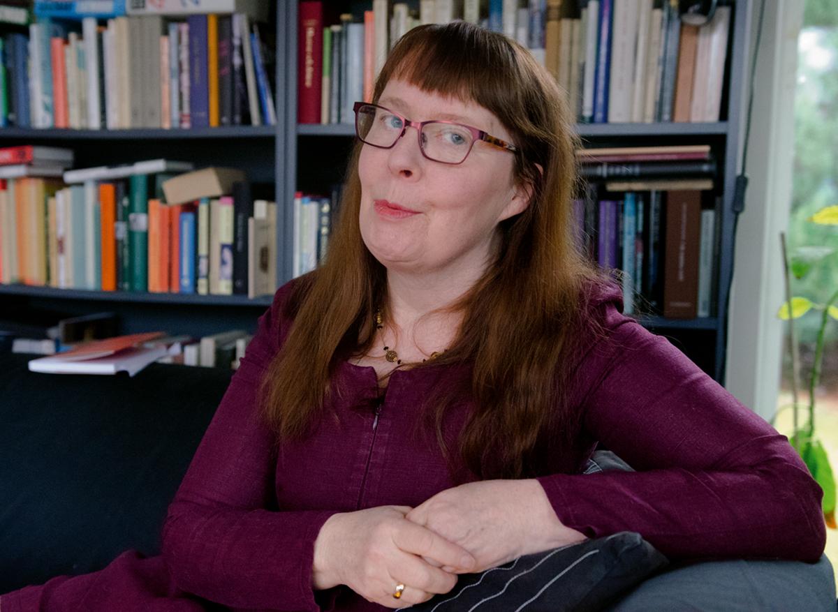 Maria Ehrenberg – Vad finns i min bokhylla?